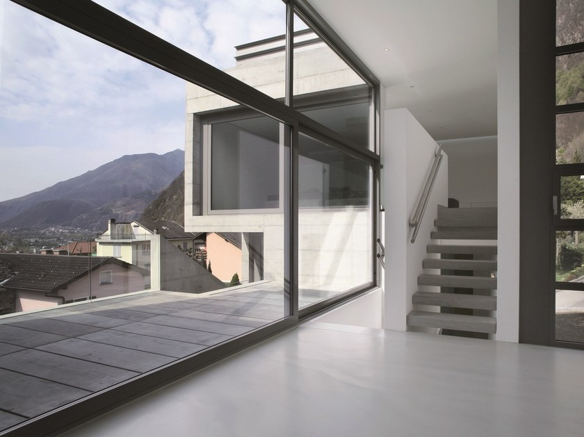Continuous facade system EKU® 50 GLASS - PROFILATI