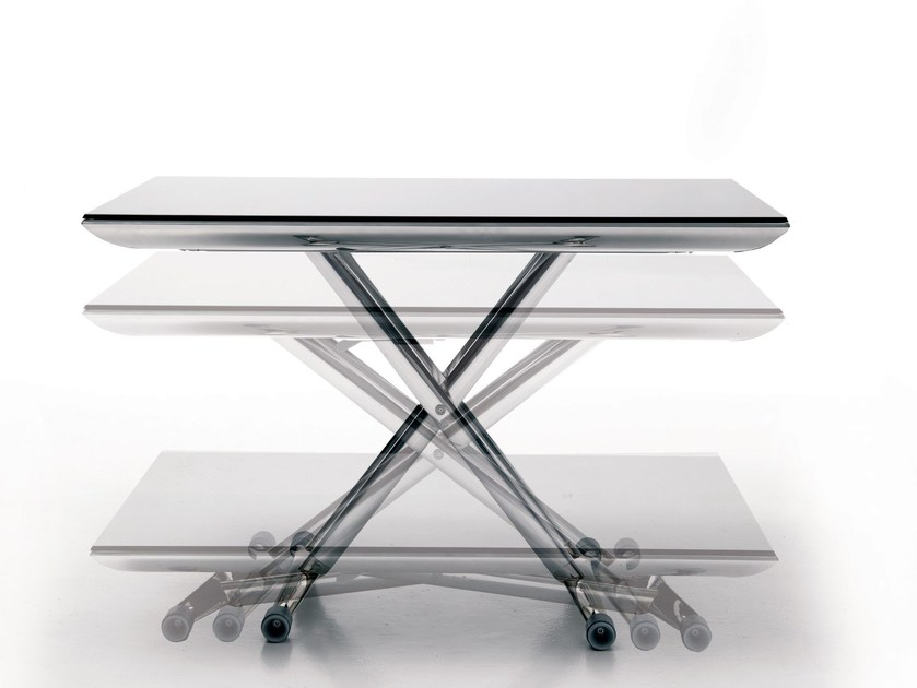 Height-adjustable coffee table MAGIC - Ozzio Italia