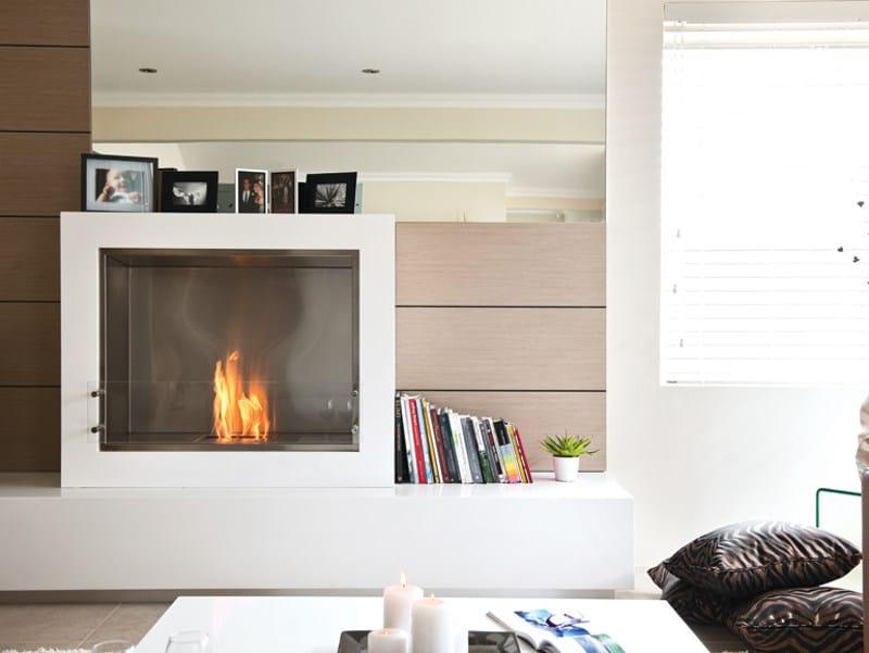 Chimenea de pie de bioetanol aspect by ecosmart fire for Chimeneas interiores sin humo
