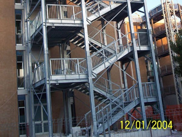 Metal fire escape staircase FUTUR - SO.C.E.T.