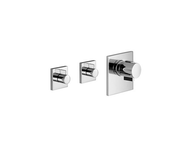 Concealed thermostat without volume control XTOOL by Dornbracht