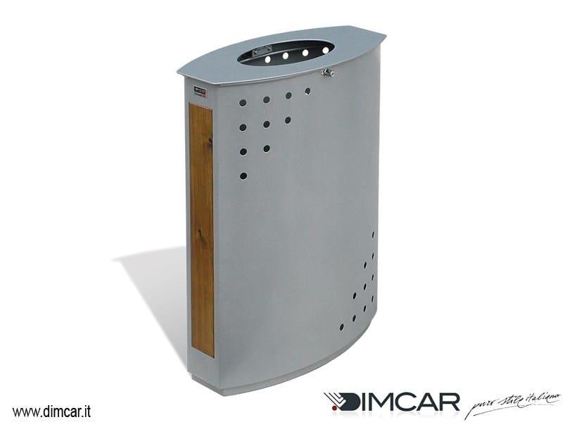 Portarifiuti in metallo per esterni cestone heron dimcar for Dimcar arredo urbano