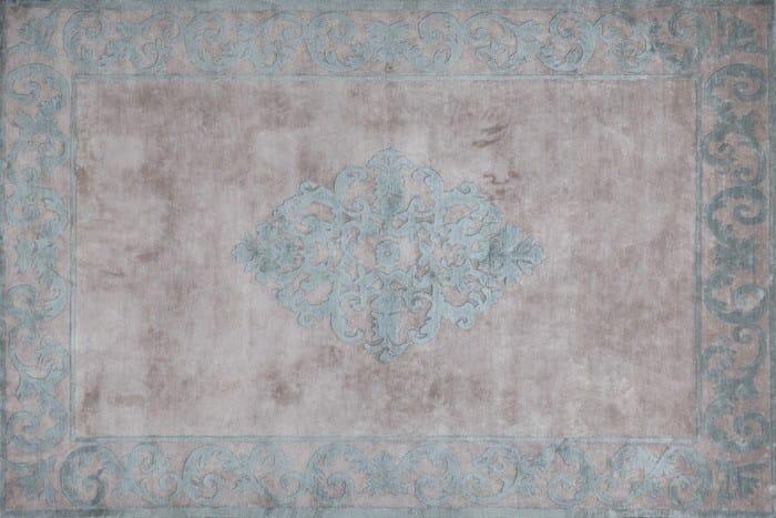 Handmade silk rug AMIRAL GREEN | Handmade rug - EDITION BOUGAINVILLE