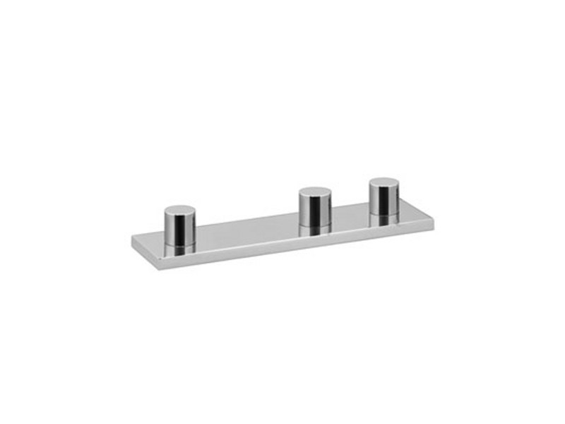 Chrome-plated bathtub tap with diverter SYMETRICS by Dornbracht