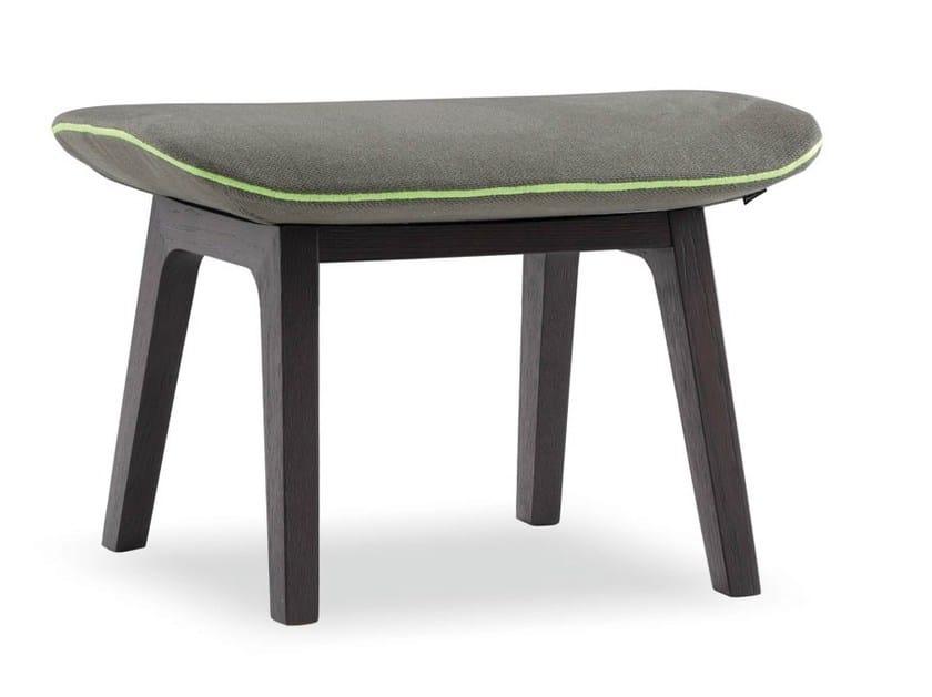 Oak footstool VENTURA LOUNGE | Footstool - Poliform