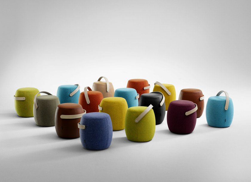 pouf rembourr carry on by offecct design mattias stenberg. Black Bedroom Furniture Sets. Home Design Ideas