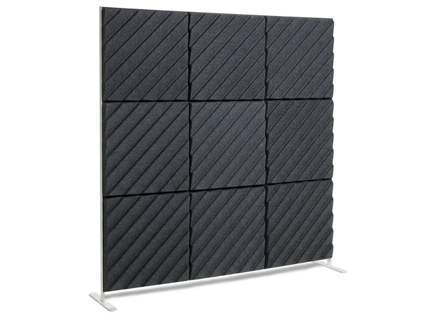 Sound insulation and sound absorbing panel