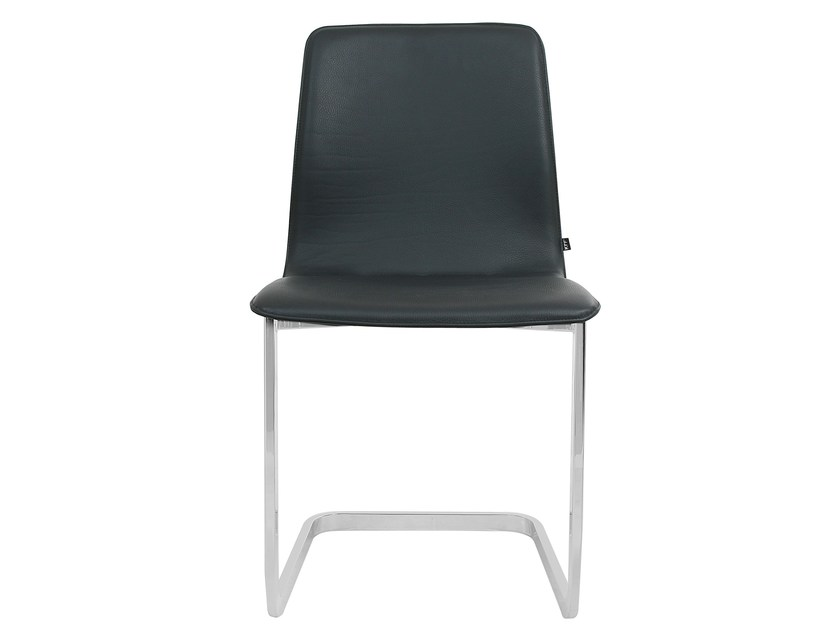 Cantilever leather chair MAVERICK | Cantilever chair - KFF