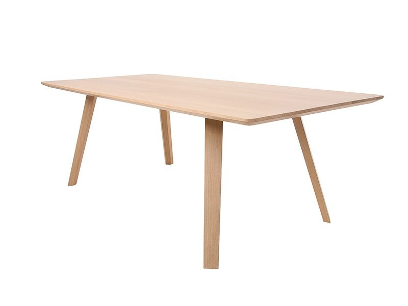 Rectangular solid wood table MAVERICK   Rectangular table by KFF