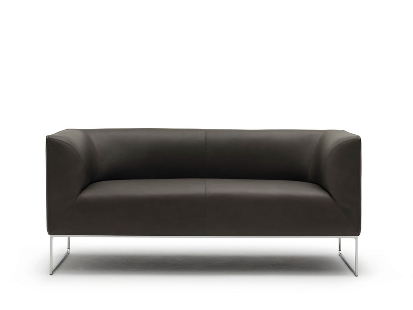 3 seater leather sofa MELL | Leather sofa by COR