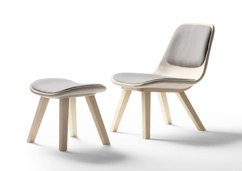 Upholstered fabric easy chair KUSKOA | Easy chair - ALKI