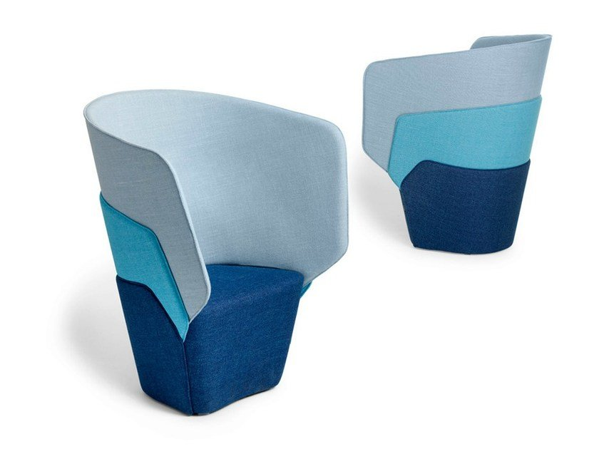 Easy chair LAYER by Offecct