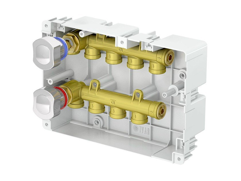Mixing unit and manifold IS BOX - I.V.A.R.