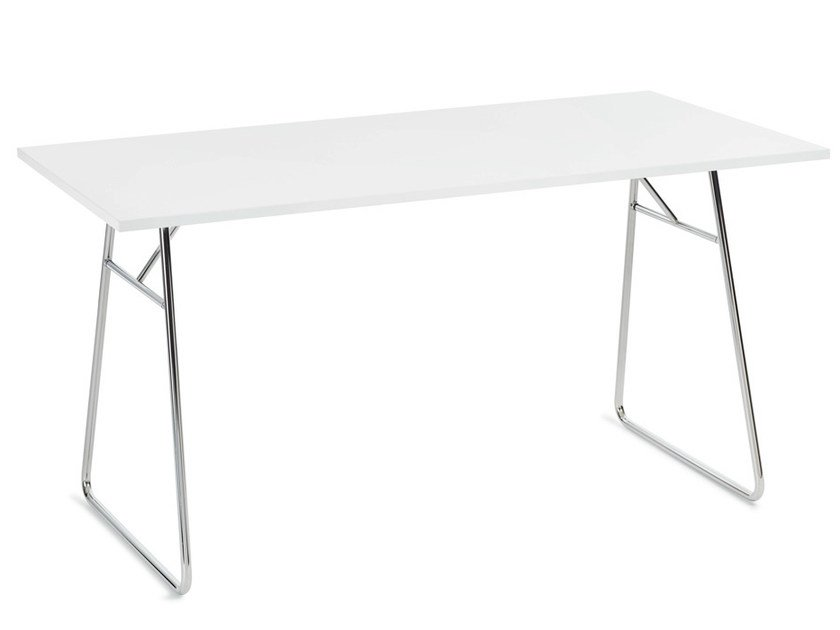 Folding rectangular table LITE | Table by Offecct
