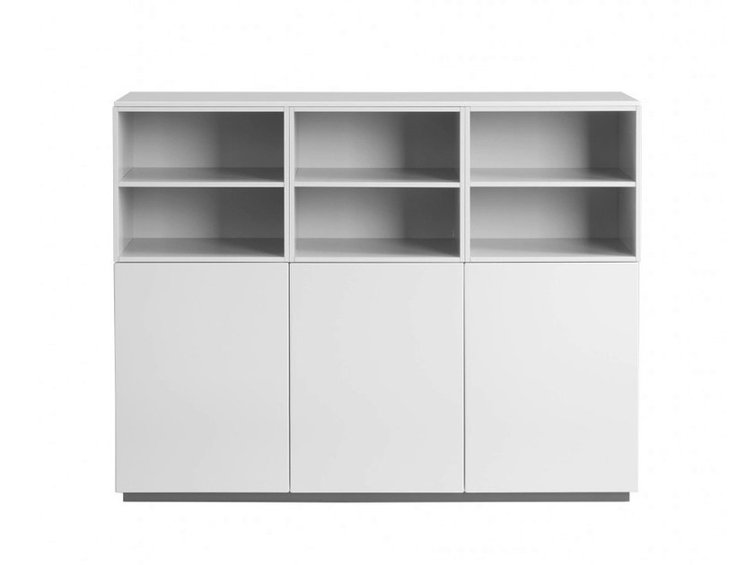 Modular highboard with doors ARCTIC CUBE | Highboard by Abstracta