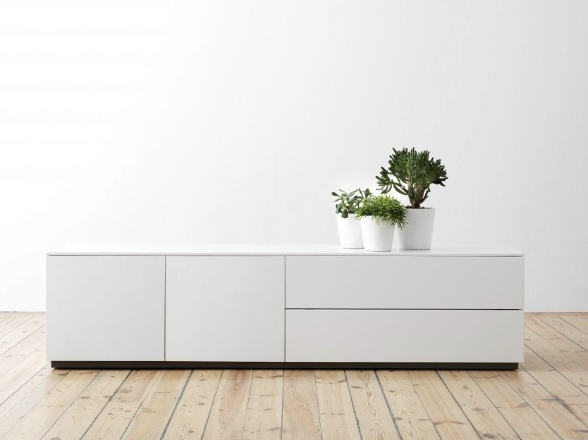 Sideboard with doors with drawers ARCTIC | Sideboard - Abstracta
