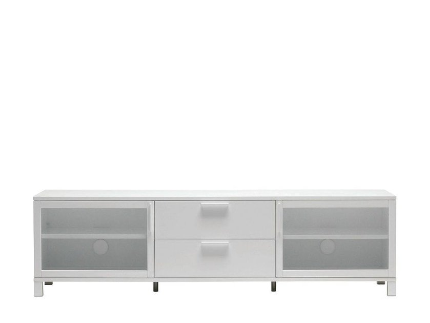 Sideboard with doors with drawers AZZARO - Abstracta