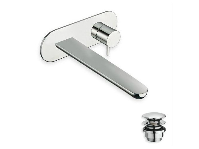 Wall-mounted washbasin mixer QUEEN by CRISTINA