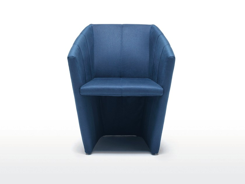 Fabric armchair FOLD by Living Divani