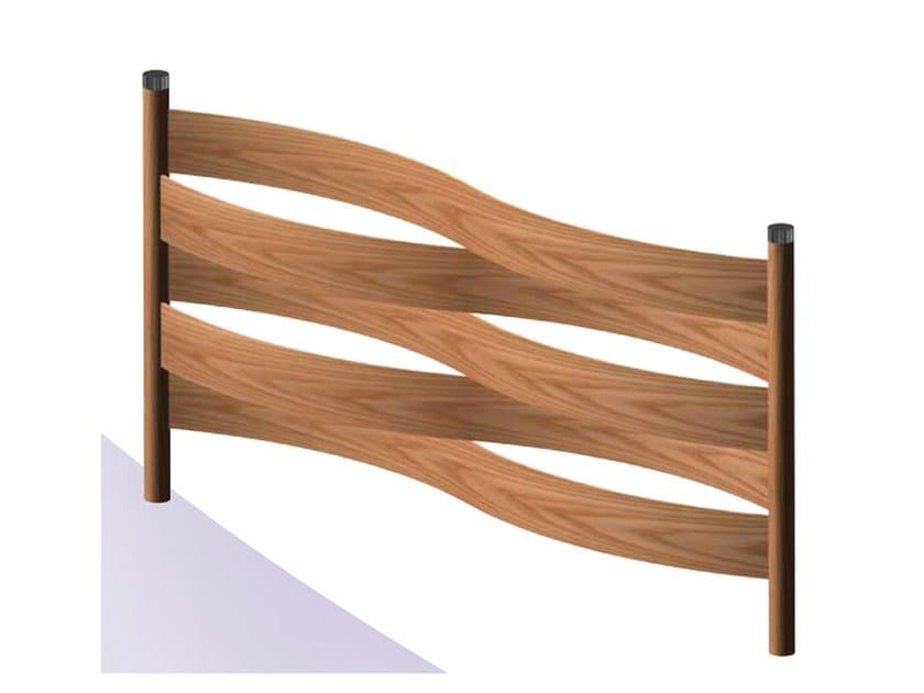 Schermo divisorio da giardino fence by d d f curvati snc for Divisori da giardino