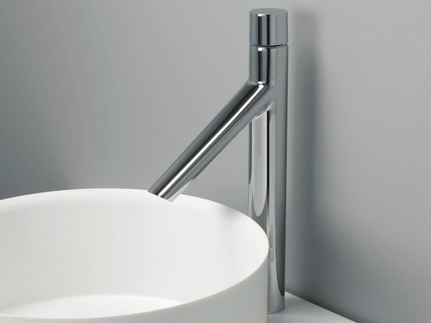 Chrome-plated countertop washbasin mixer RUBINETTO - CRISTINA Rubinetterie
