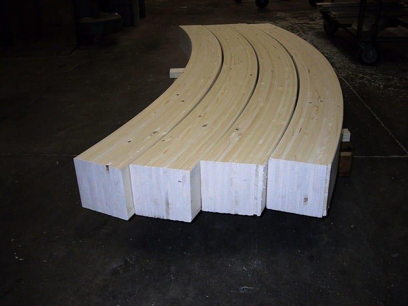 Travi in legno lamellare legno lamellare curvo ddf for Bastone per velux