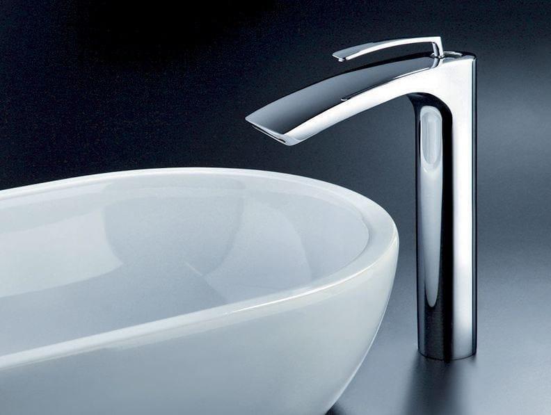 Chrome-plated washbasin mixer BOLLICINE by CRISTINA