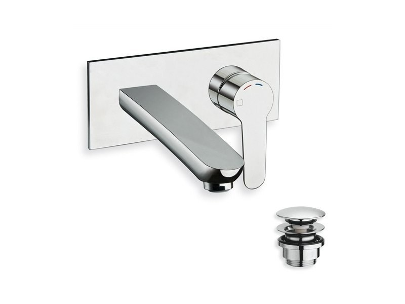 Wall-mounted single handle washbasin mixer NEW DAY by CRISTINA