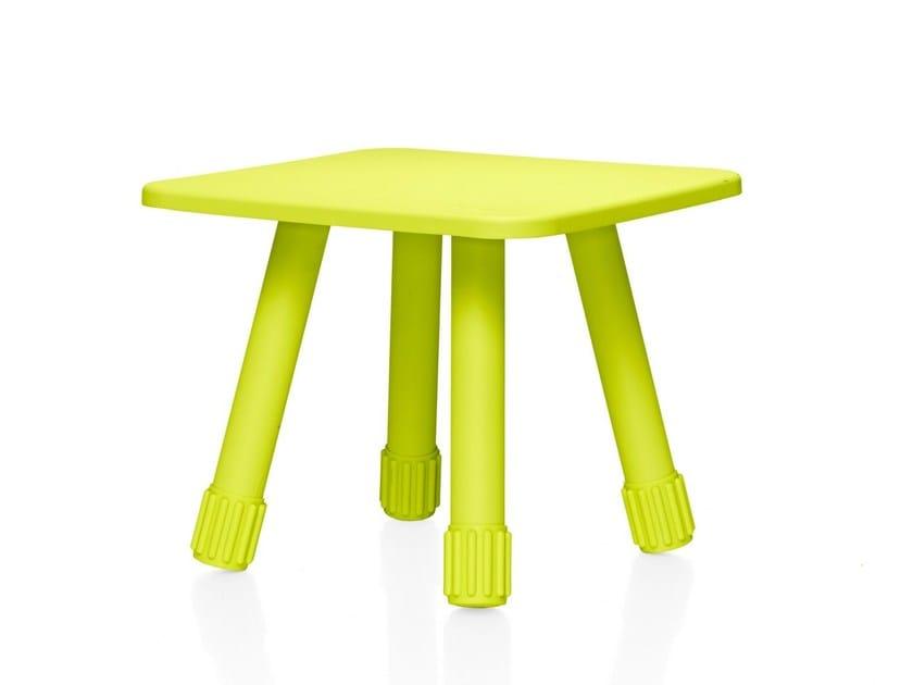 Steel stool / coffee table TABLITSKI | Low stool - Fatboy Italia