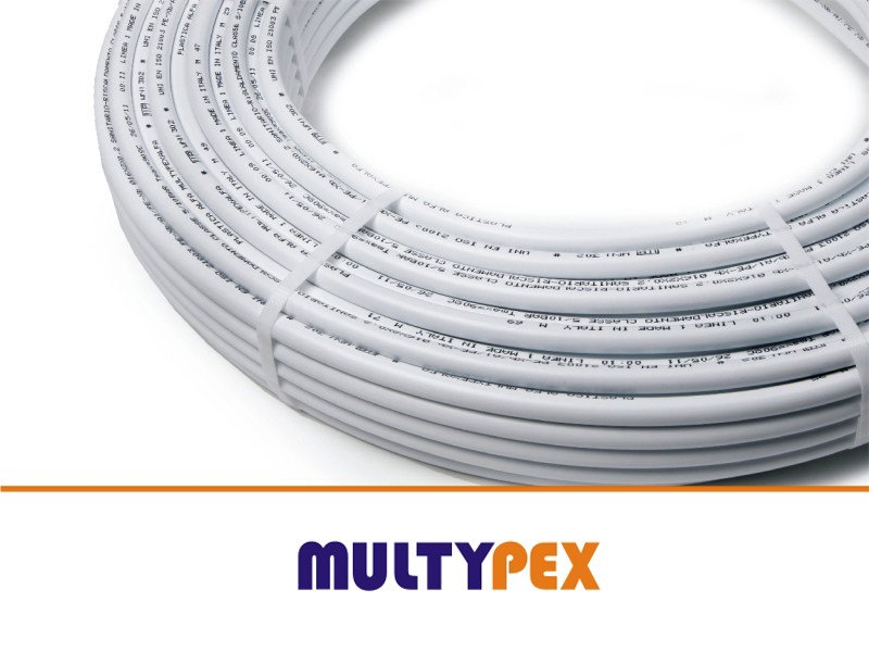 Pipe for air conditioning unit PEX-AL-PEX NUDO by PLASTICA ALFA