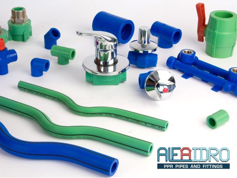 Raccordi in ppr alfaidro plastica alfa for Materiale del tubo della linea d acqua