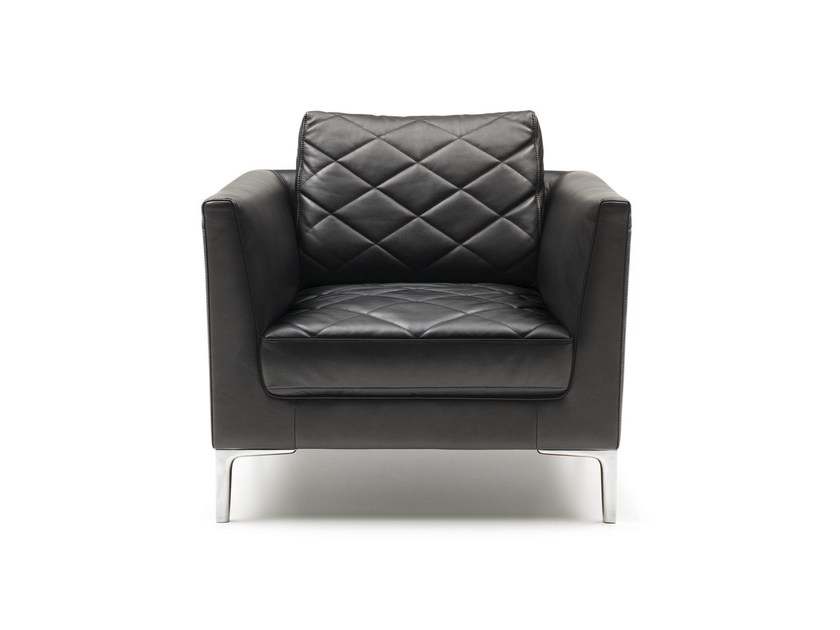 Upholstered armchair with armrests DS-48 | Armchair by de Sede