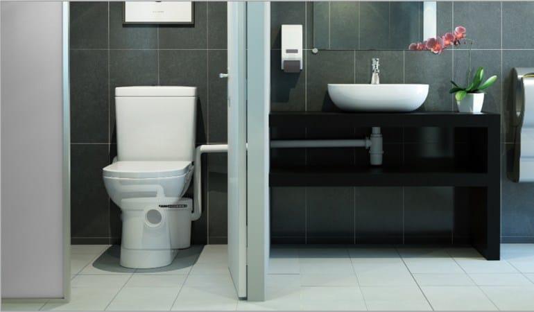 Trituratore di scarico per bagno SANIACCESS 2 by SFA