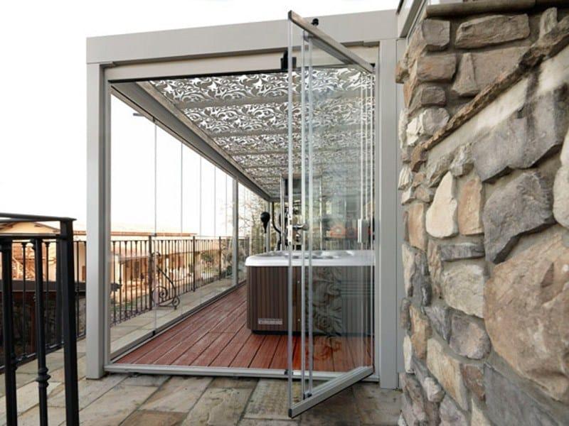 Veranda in ferro e vetro FORMENTERA  Veranda - CAGIS