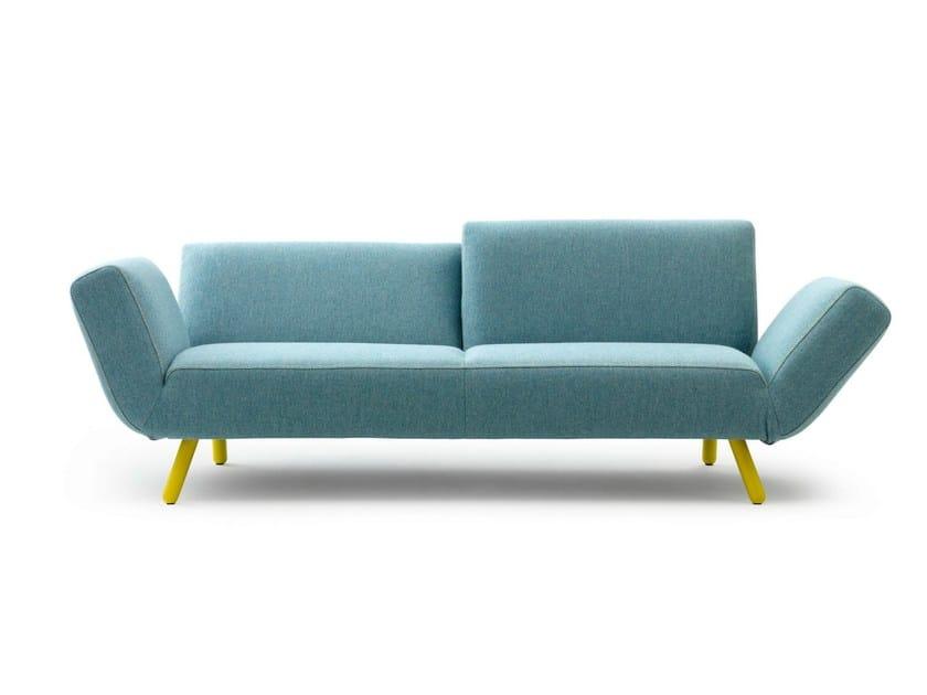 3 seater recliner sofa DR'OP - LEOLUX