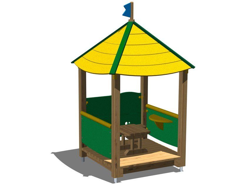 Playhouse for playground