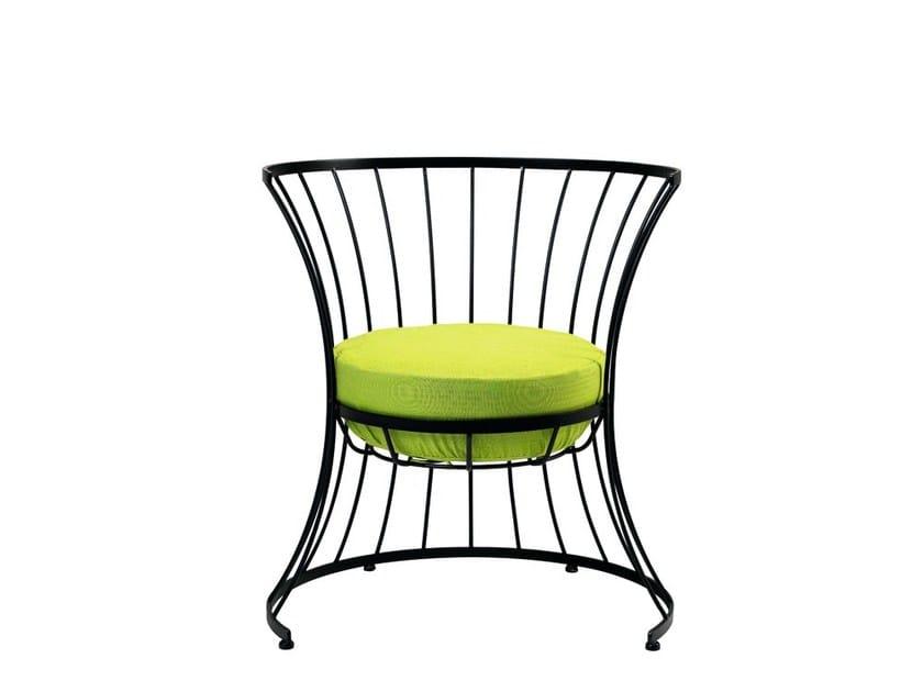 Iron garden armchair CLESSIDRA | Garden armchair by Ethimo
