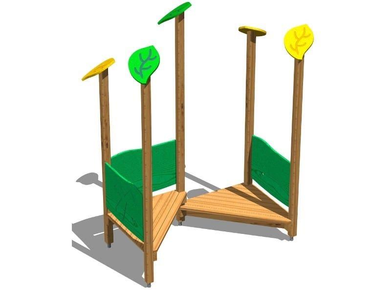Pine Play structure ANGOLO INCONTRI - Legnolandia