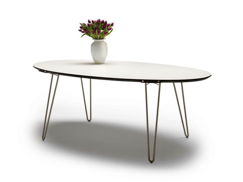 Tavolo allungabile in laminato gm 6740 by naver collection for Produttori tavoli allungabili