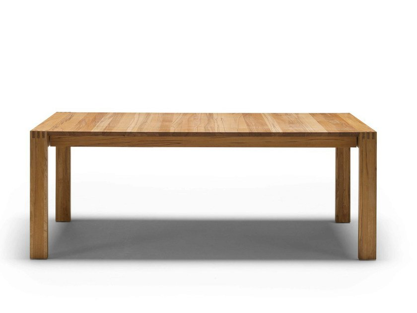 table extensible en bois massif gm line by naver collection design gm design. Black Bedroom Furniture Sets. Home Design Ideas
