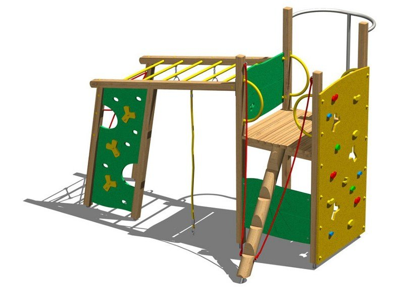 Wooden Play structure TORRE CASTORO by Legnolandia