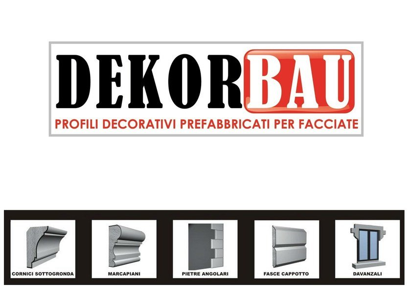 Polystyrene ledge DEKORBAU® - Cabox
