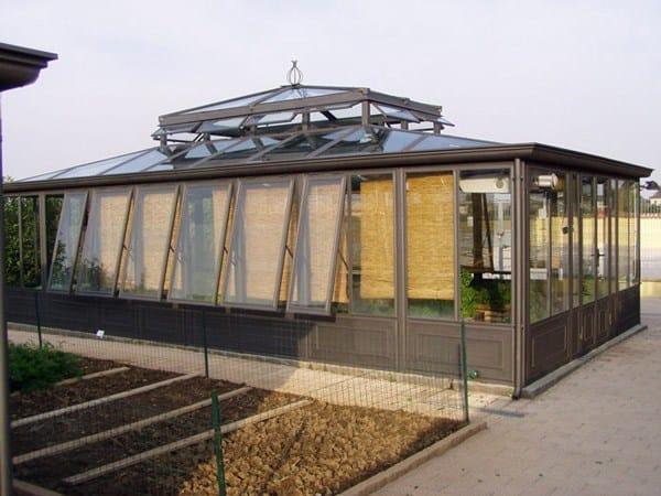 Giardino d 39 inverno in ferro e vetro giardino d 39 inverno in - Giardino d inverno normativa ...