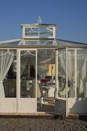 Giardino d 39 inverno in ferro e vetro giardino del re cagis - Giardino d inverno normativa ...