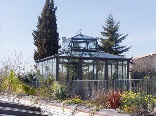 Glass and iron conservatory READING HALL - CAGIS