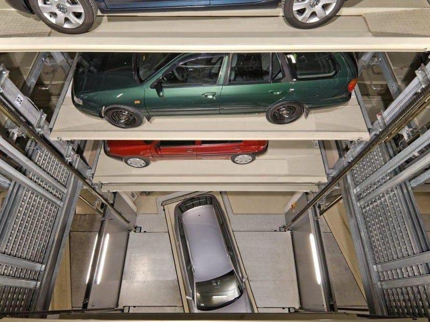 Impianti di parcheggio parksafe idealpark - Garage sotterraneo ...