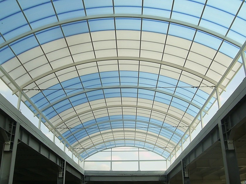 Translucent multiwall polycarbonate ARCOPLUS® 684-6104-6124 by dott.gallina