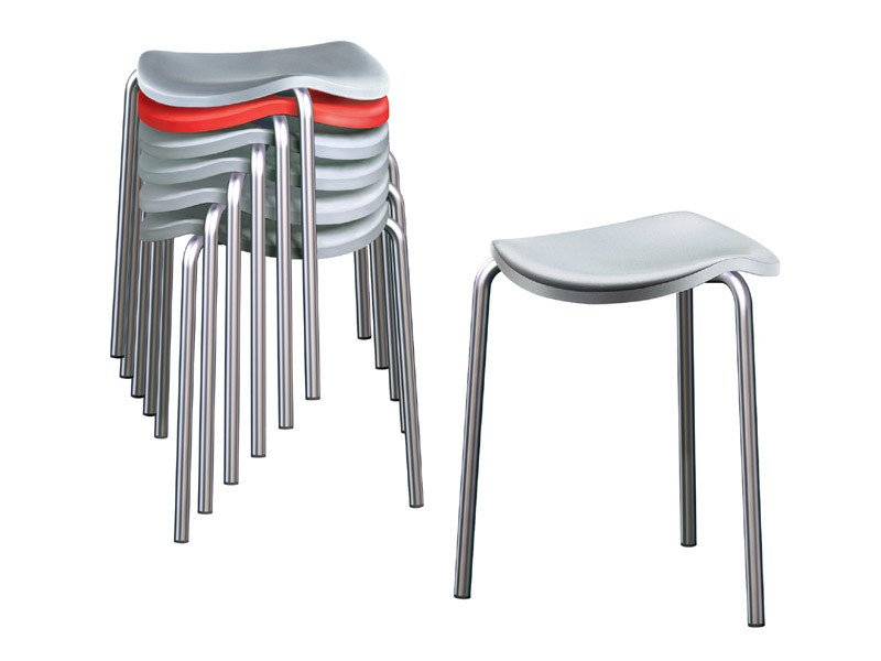 Stackable stool WELL | Stackable stool by REXITE