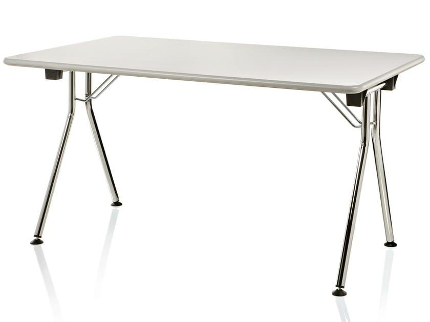 Folding rectangular table INKA - ALMA DESIGN