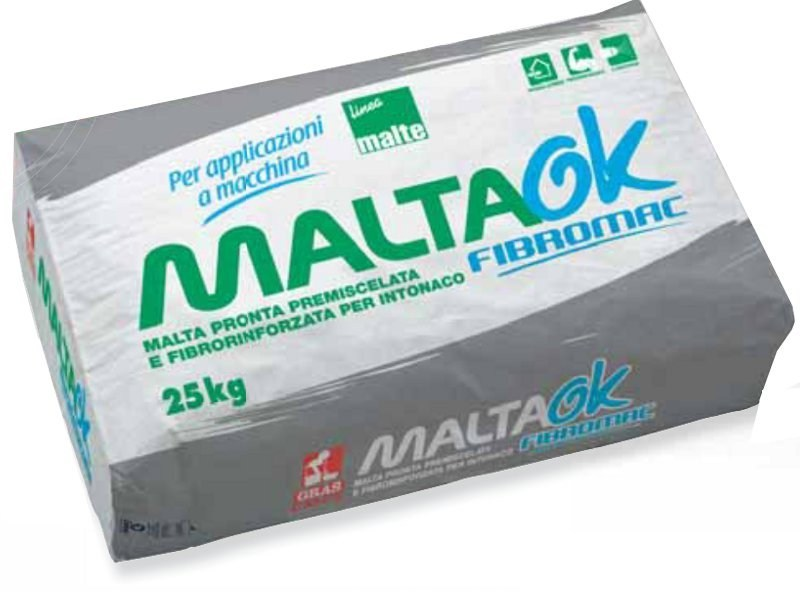 Malta fibrorinforzata maltaok fibromac by gras calce for Gras calce malta bastarda